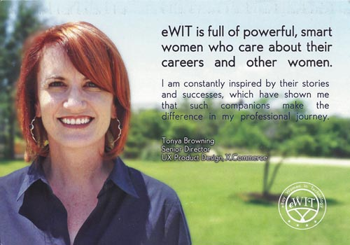 picture of tonya on ebay women in technology postcard